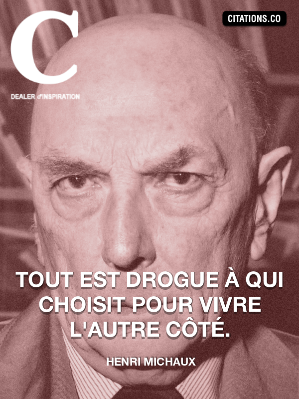 Citation de Henri Michaux