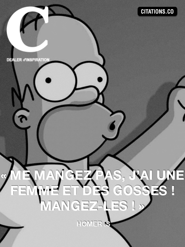 Citation de Homer .s