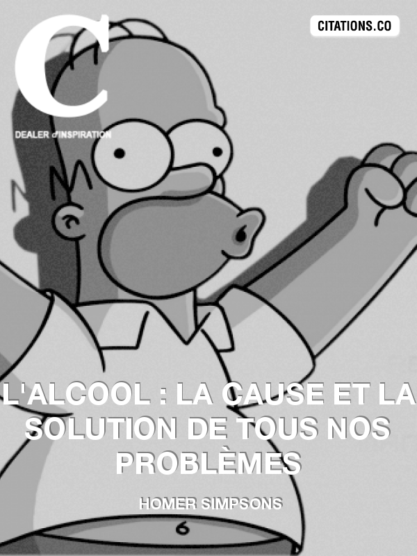 Citation de Homer Simpsons