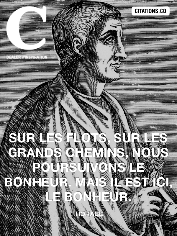 Citation de Horace-1953600