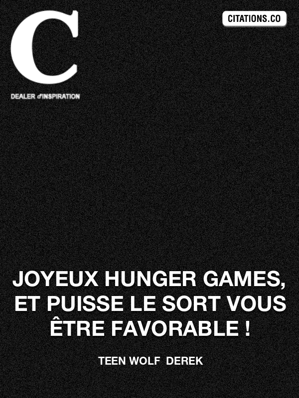Citation de Hunger Games-5b2339c6a561a