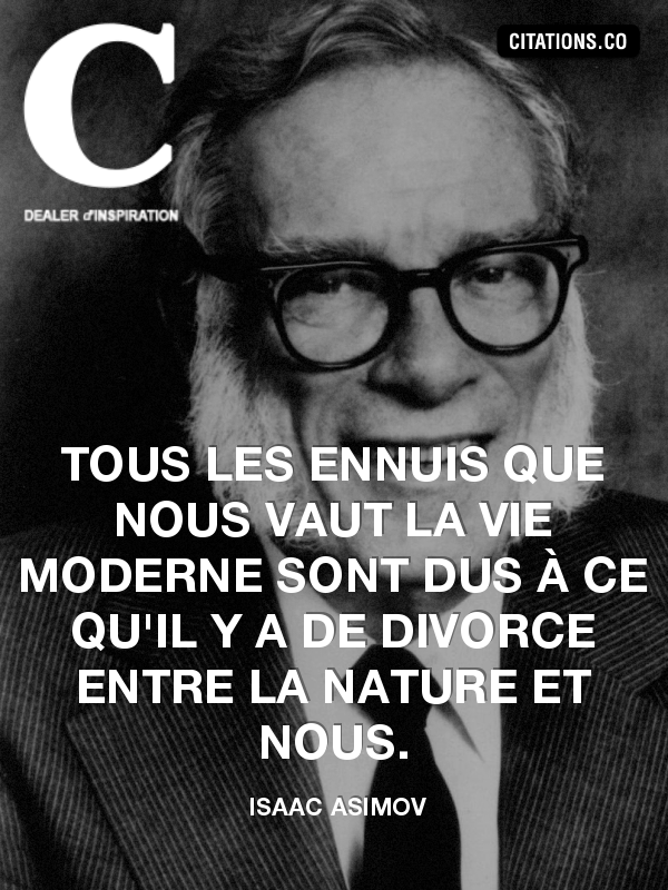 Citation de Isaac Asimov