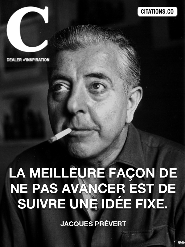 Citation de Jacques Prévert