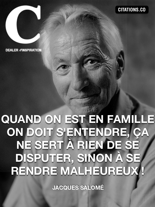 Citation de Jacques Salomé