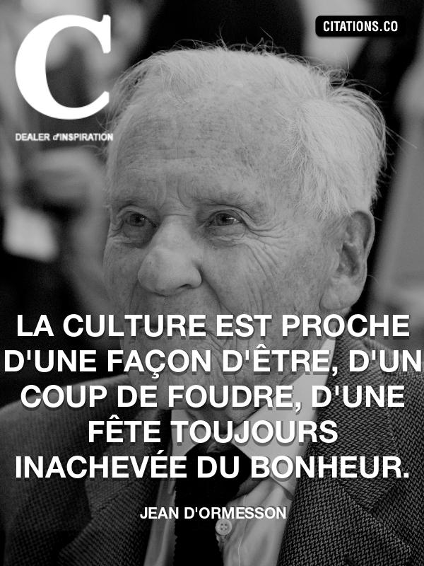 Citation De Jean D Ormesson Citation N 5427