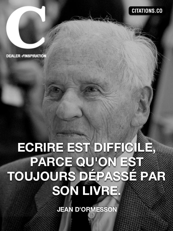 Citation De Jean D Ormesson Citation N 11009