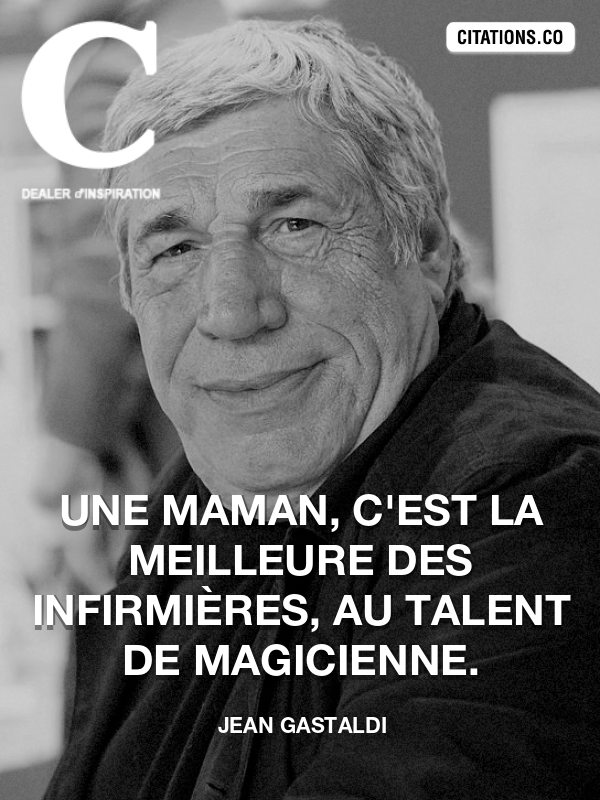Citation de Jean Gastaldi