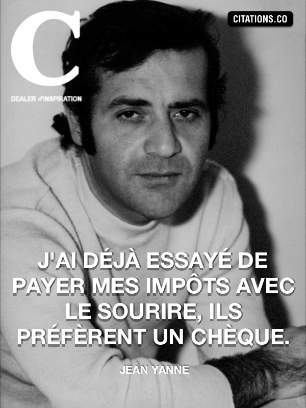 Citation de Jean Yanne