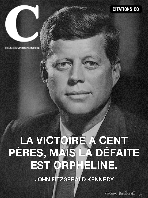 Citation de John Fitzgerald Kennedy-4968483