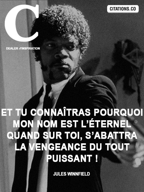 Citation de Jules Winnfield