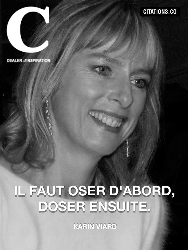 Citation de Karin Viard