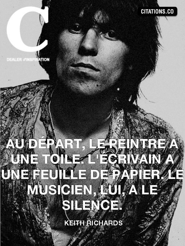 Citation de Keith Richards