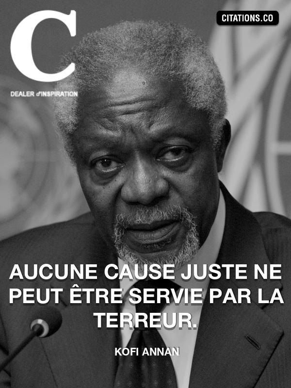 Citation De Kofi Annan Citation N 4449