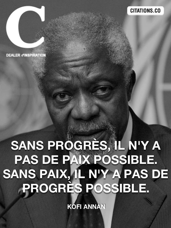 Citation De Kofi Annan Citation N 6026