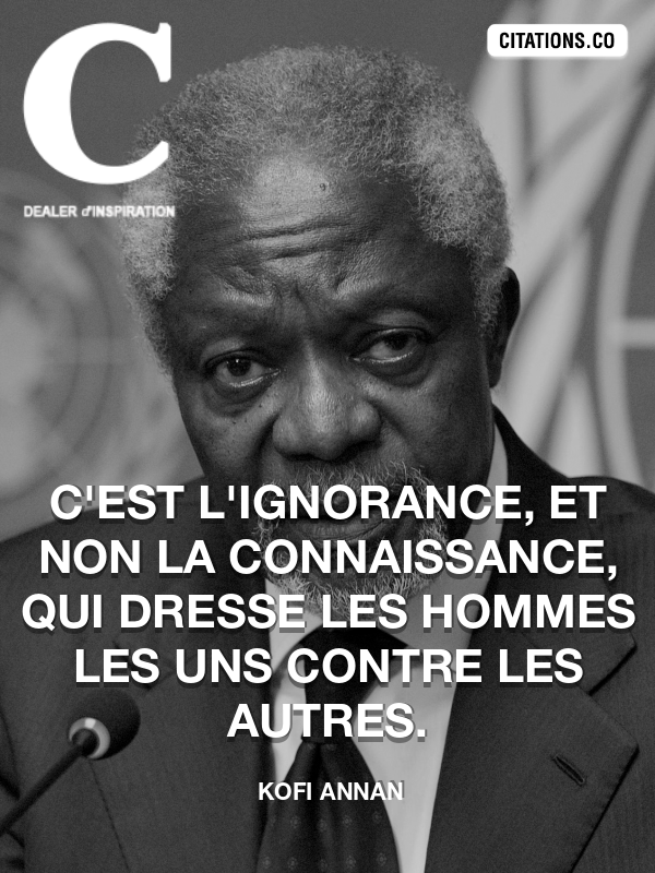 Citation de Kofi Annan-5b043e85825ca