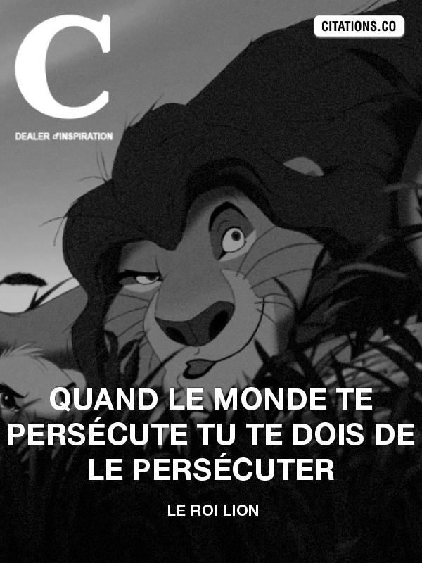 Citations Le Roi Lion Recherche De Citations Phrase