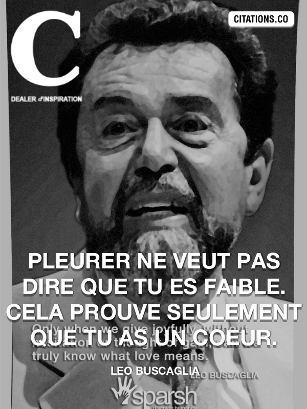 Citation de leo buscaglia