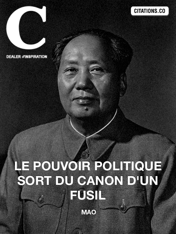 Citation de Mao