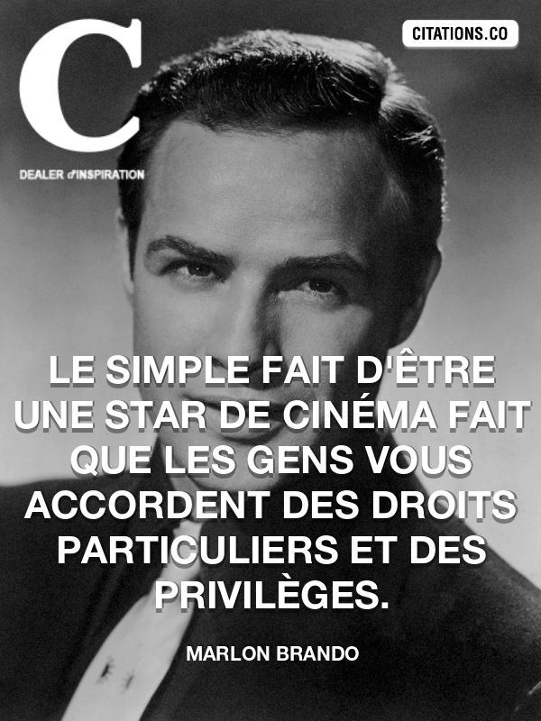 Citation de Marlon Brando-5a69807235089