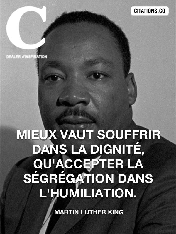Citaten Martin Luther King : Citation de martin luther king n°