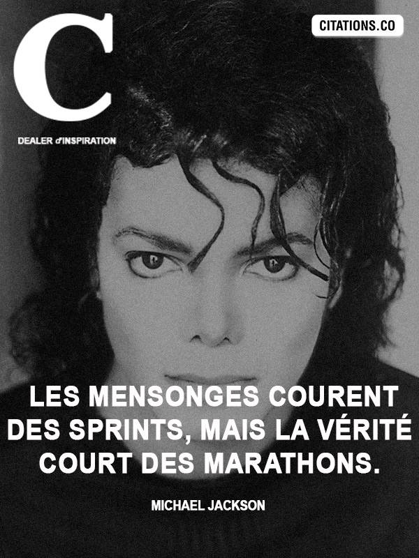 Citation de Michael Jackson