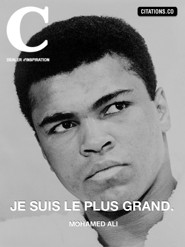 Mohamed Ali - Je suis le plus grand.