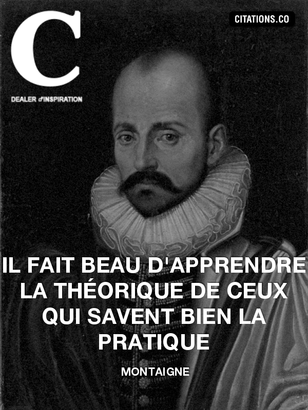 Citation de Montaigne-1191330