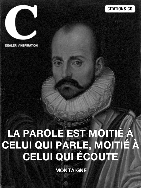 Citation de Montaigne
