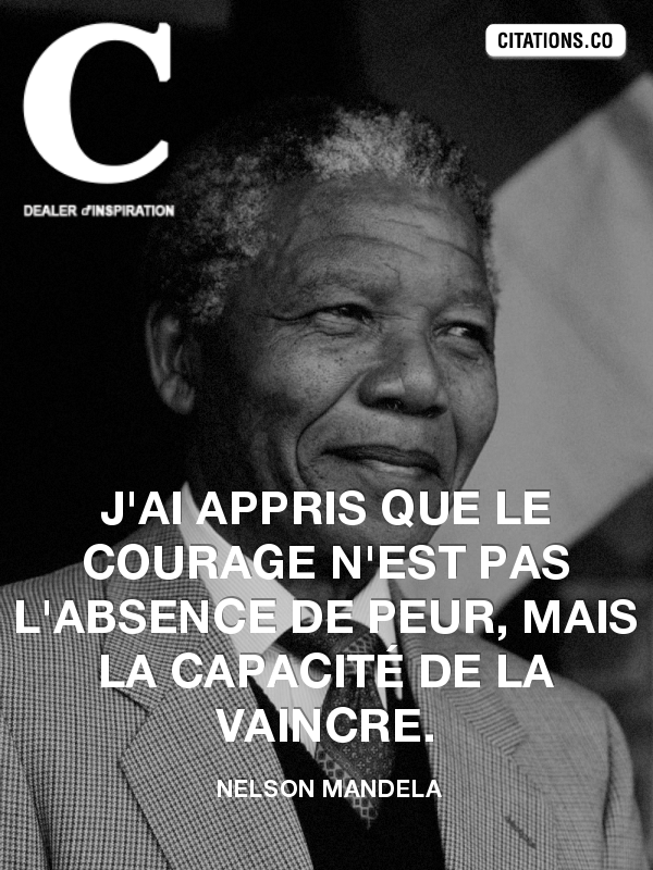 Citation de Nelson Mandela