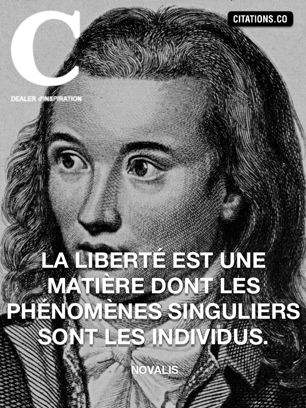 Citation de Novalis