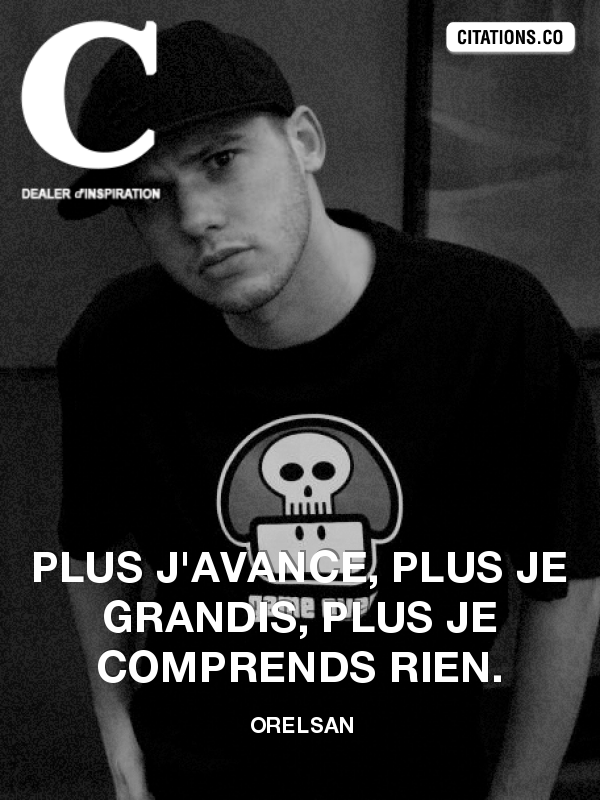 Citation de Orelsan