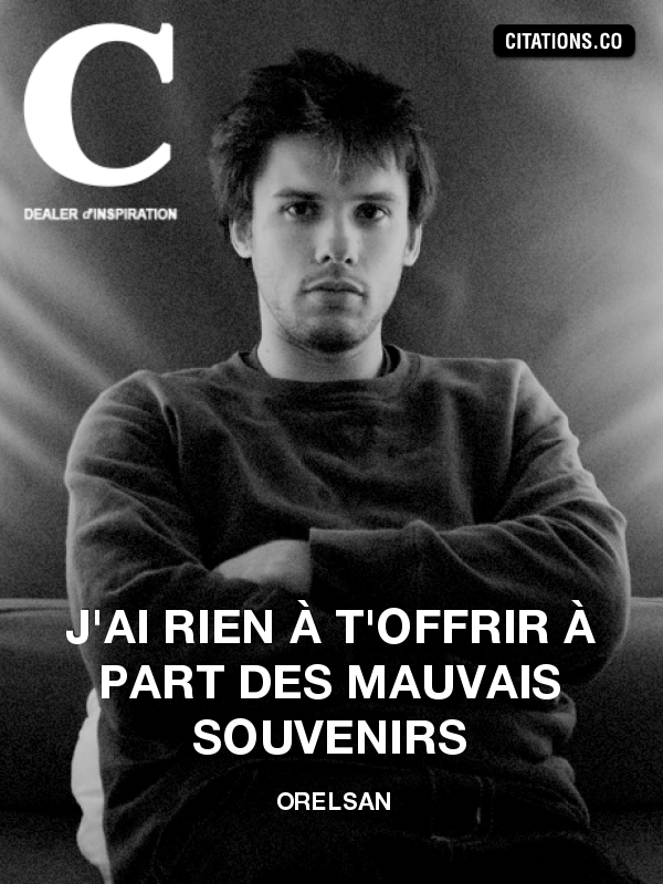Citation de Orelsan-26367354