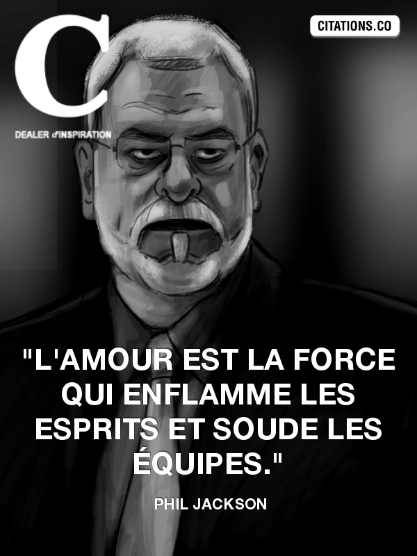 Citation de Phil Jackson
