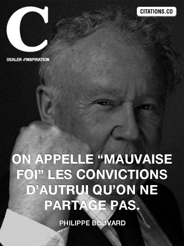 Citation de Philippe Bouvard