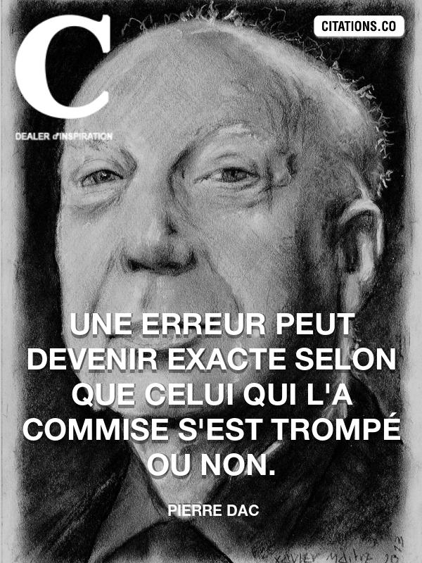 Citation : pierre dac - Citation-inspiration.com