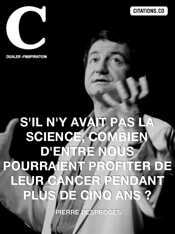Citation de Pierre Desproges