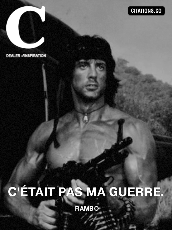 Citation de Rambo-534715