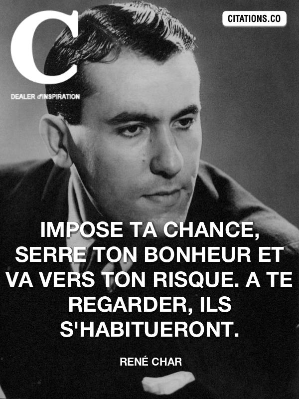 Citation De René Char Citation N 7280