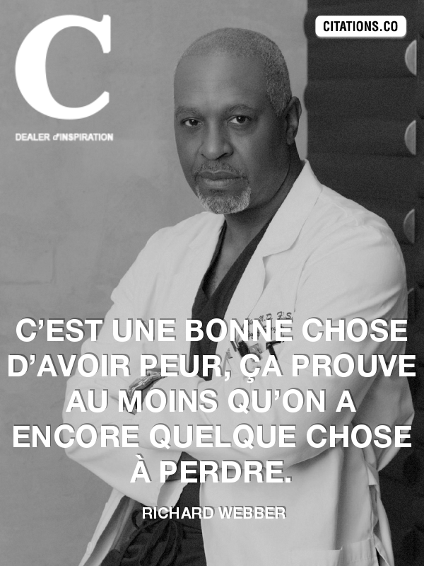 Citation de Richard Webber