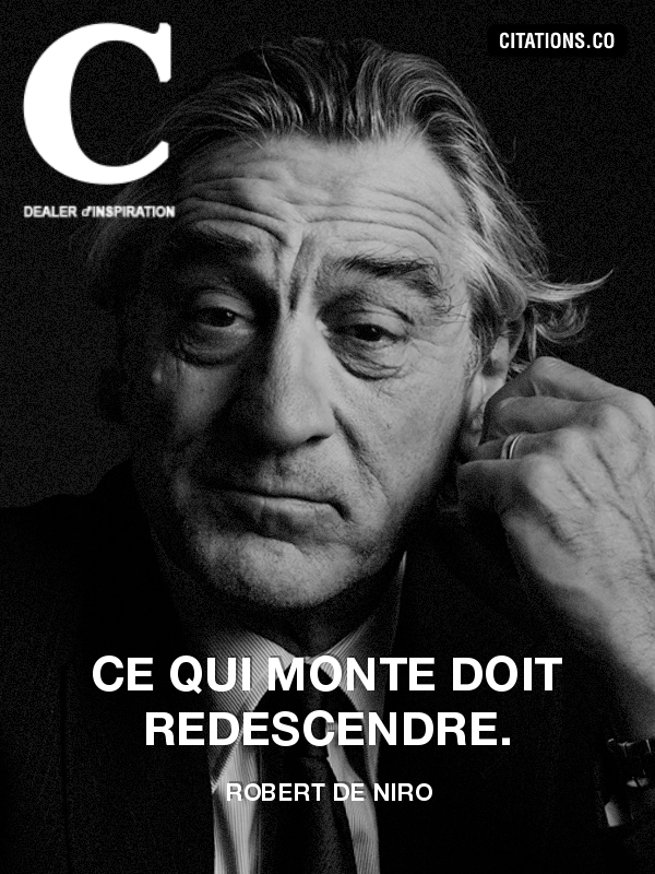 Citation de Robert de Niro-489976