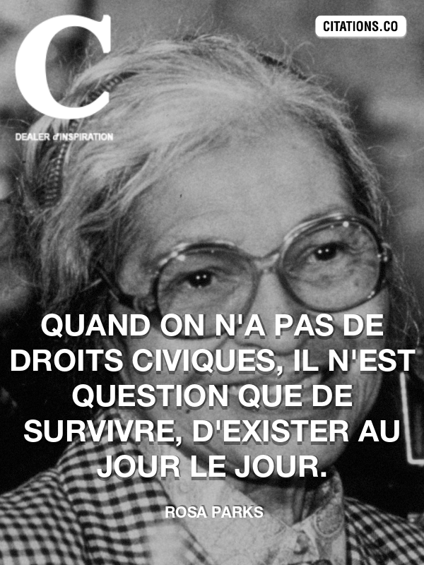 Citation de Rosa Parks-5aa609533224a