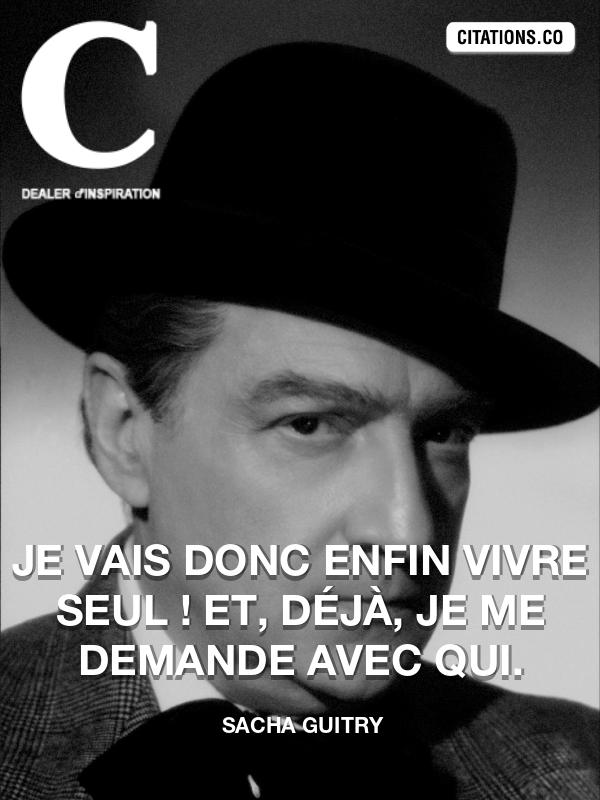 Citation De Sacha Guitry Citation N 8997