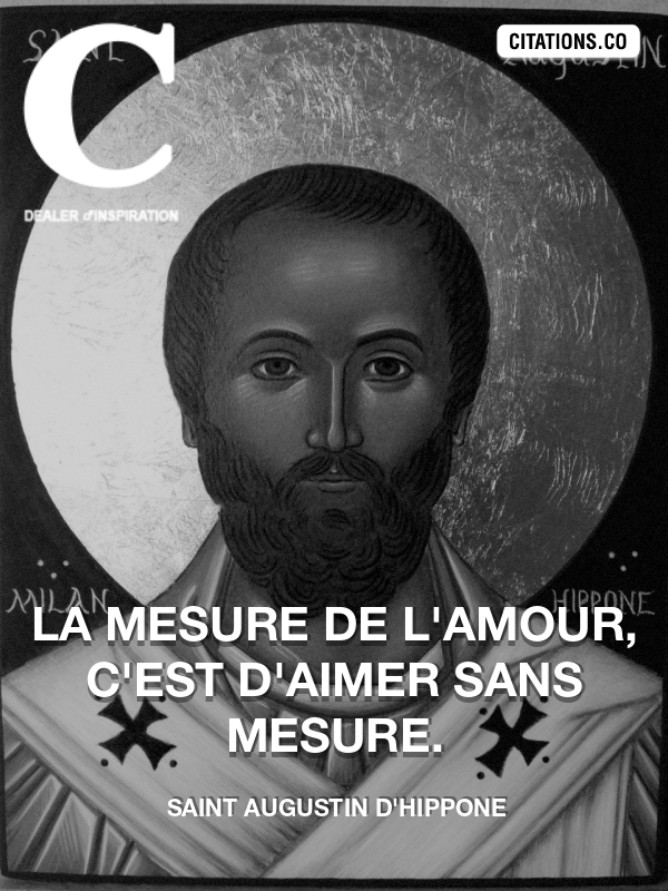 Citation de Saint Augustin D'Hippone-5acb55cbbfa63