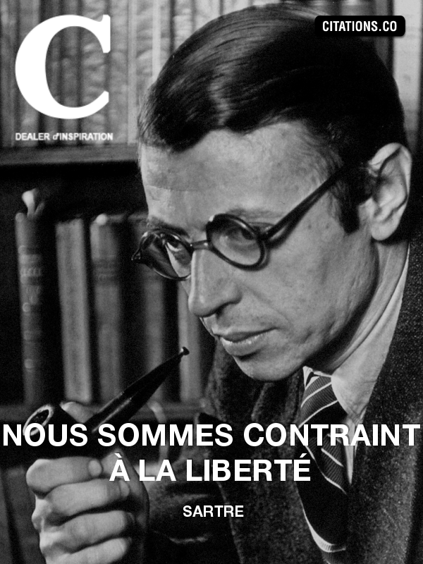 Citation de Sartre