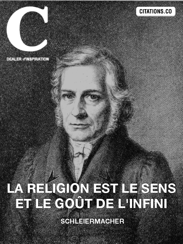 Citation de Schleiermacher