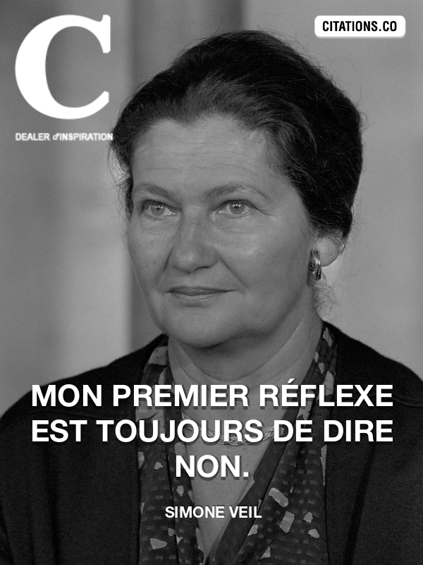 Citation de Simone Veil