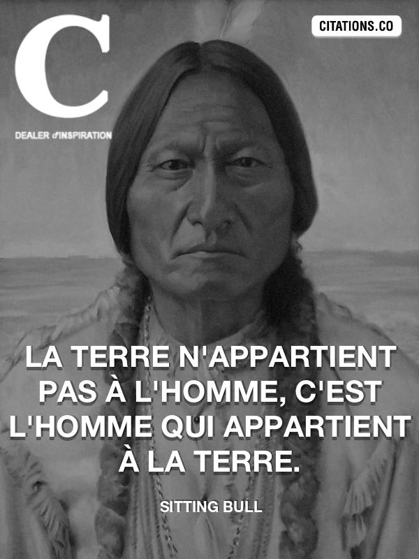 Citation De Sitting Bull Citation N 11069