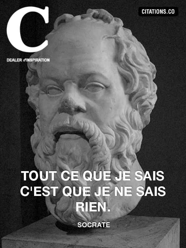 Citation de Socrate