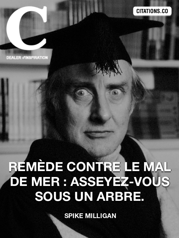 Citation de Spike Milligan-5a5bfd1350bfc