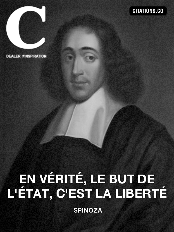 Citation de Spinoza